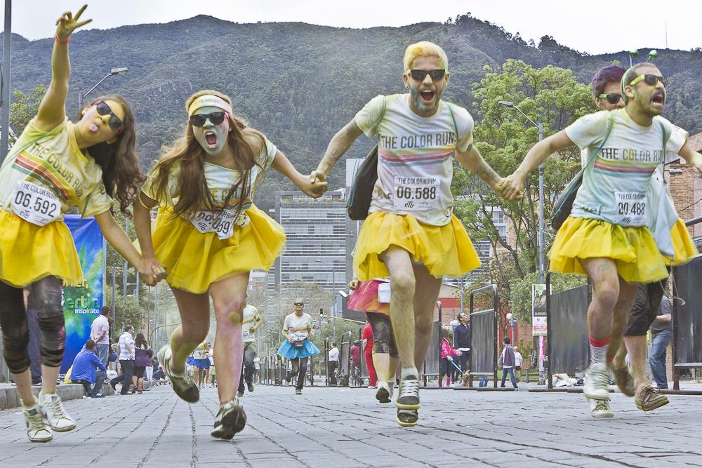 Color Run Bogotá 2013 Faroliando William Galindo